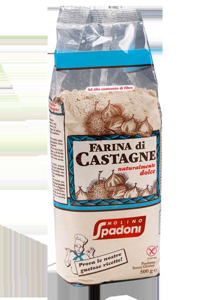 Farina di castagne Molino Spadoni