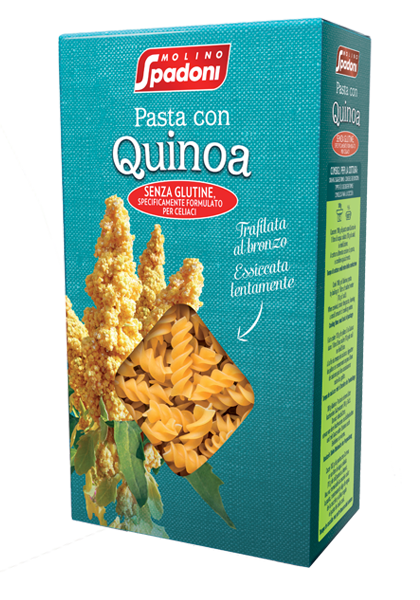 Fusilli con quinoa Molino Spadoni