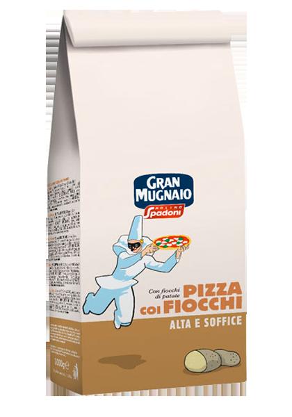 miscela per pizza coi fiocchi molino spadoni