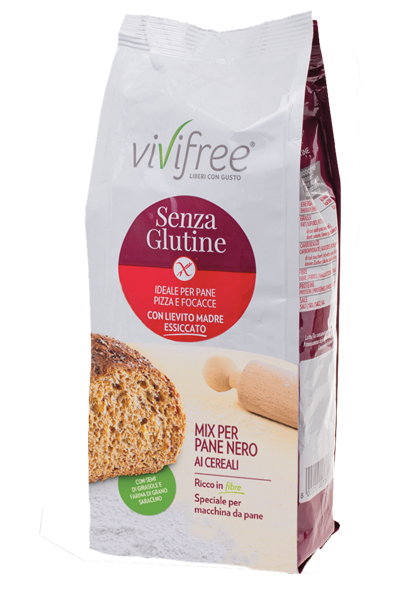 Black Bread Mix with Cereals vivifree