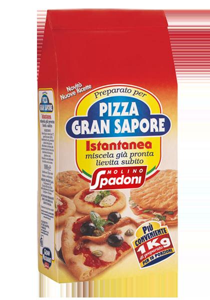 molino spadoni preparato gran sapore per pizza