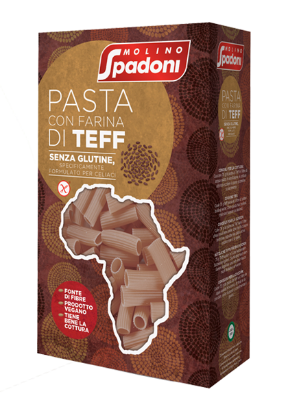 maccheroni pasta teff Molino Spadoni