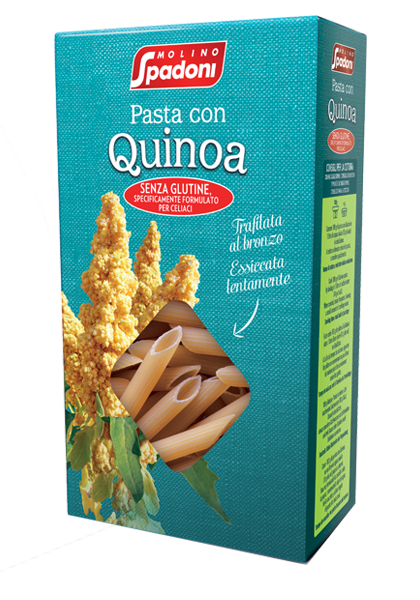 Penne with Quinoa Molino Spadoni