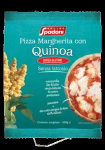 Gluten-free Margherita Pizza with Quinoa
