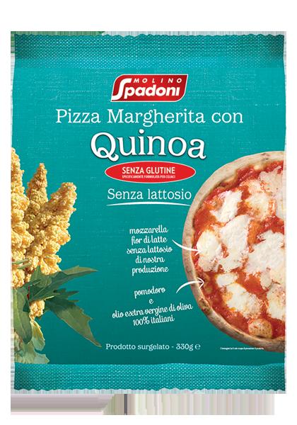 Spadoni quinoa Pizza Margherita Surgelata