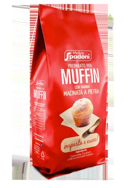 preparato per muffin molino spadoni