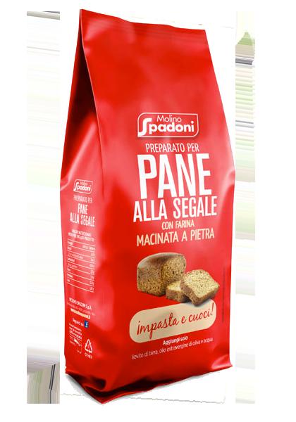 preparato per pane alla segale Spadoni