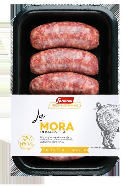Salsiccia Classica di Mora Romagnola Molino Spadoni
