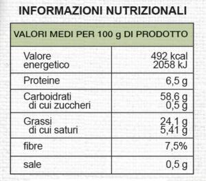 valori-nutrizionali-frollini-al-cacao-magro