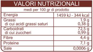 valori-nutrizionali-gran-mugnaio-fioretto