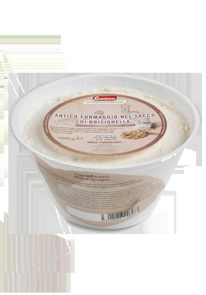 Antico formaggio nel sacco Molino Spadoni