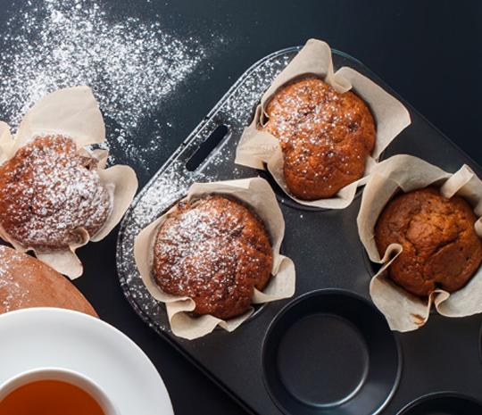 Ricetta Muffin con preparato Molino Spadoni