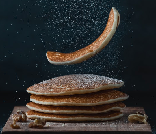 Ricetta Pancake con preparato Molino Spadoni