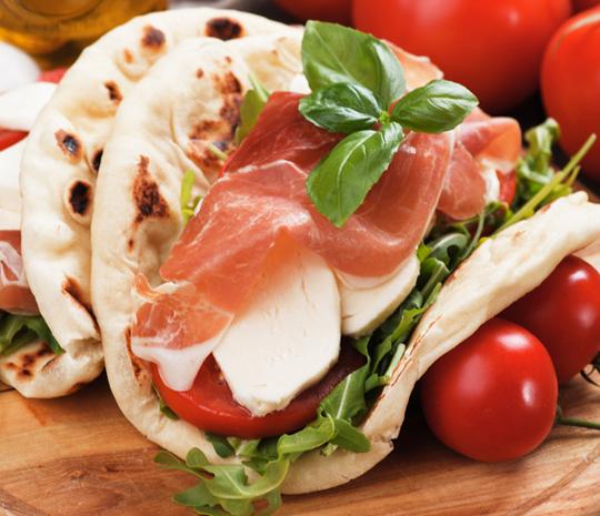 Gran Mugnaio Romagna-style piadina Recipes
