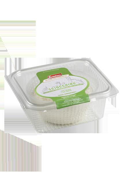 formaggio delattosinato Sciocchino Spadoni