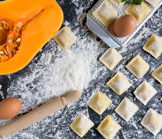 Pumpkin tortelli recipes
