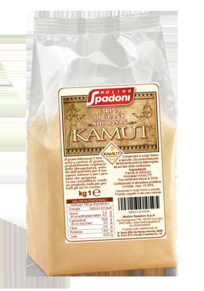 Farina di grano Khorasan Kamut® Molino Spadoni