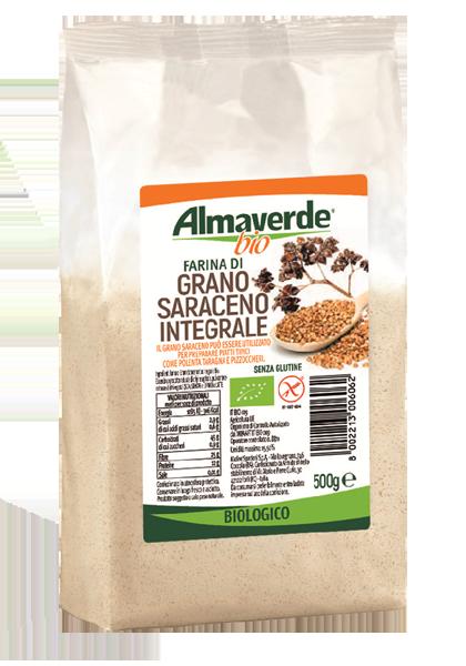 Farina di grano saraceno integrale almaverde