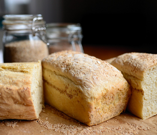 White bread made with olive oil recipes