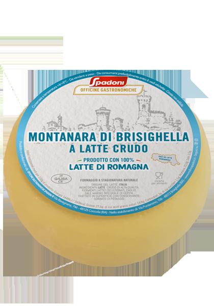 Montanara di Brisighella a latte crudo Spadoni