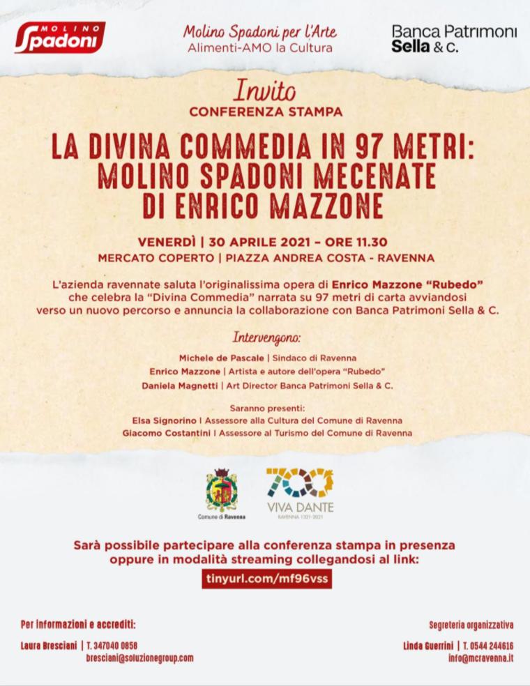 Invito Conferenza stampa Enrico Mazzone
