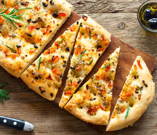 Pizza in teglia Molino Spadoni