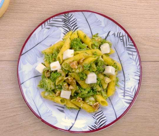 paste ai broccoli- ricetta Spadoni